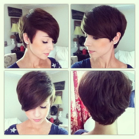 Back View Of Pixie Haircut