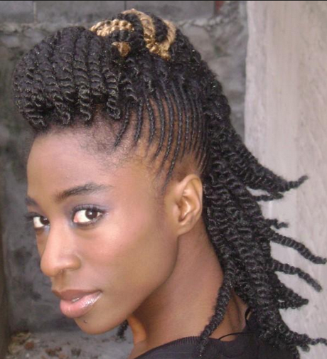 Braided Mohawk Hairstyles For Black Women