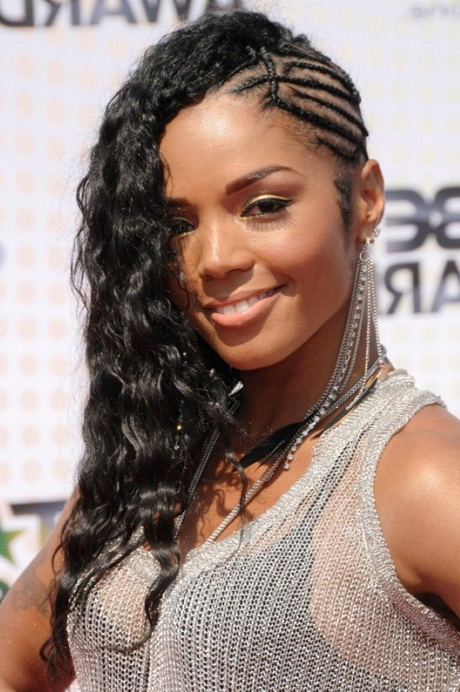 Braids and weave hairstyles