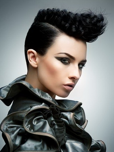 Edgy Black Hairstyles