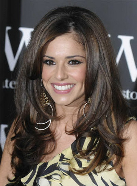 Feather Haircut Of Cheryl Cole
