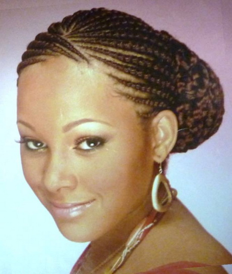 How To Do Ghana Braids / Cherokee Cornrows Finished Results