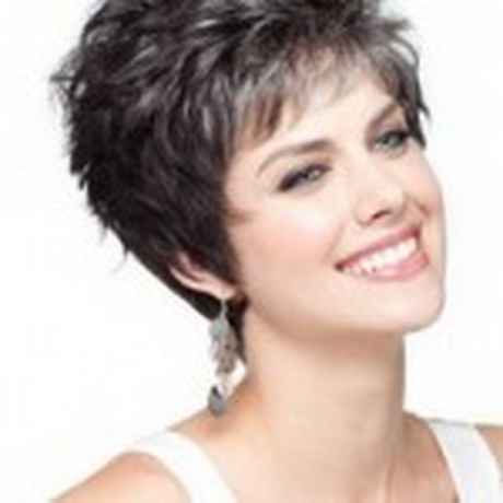 Hairstyles For Short Hair Over 55 : layered bob haircuts for fine hair  Short Shaggy Hairstyles for