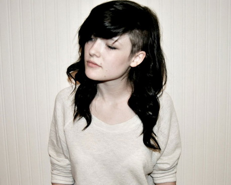 Half Shaved Hairstyles For Women