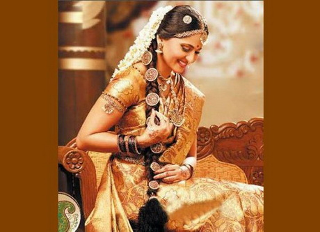 Bridal Hairstyle Pics For Mehndi : Hindu bridal hairstyles pictures