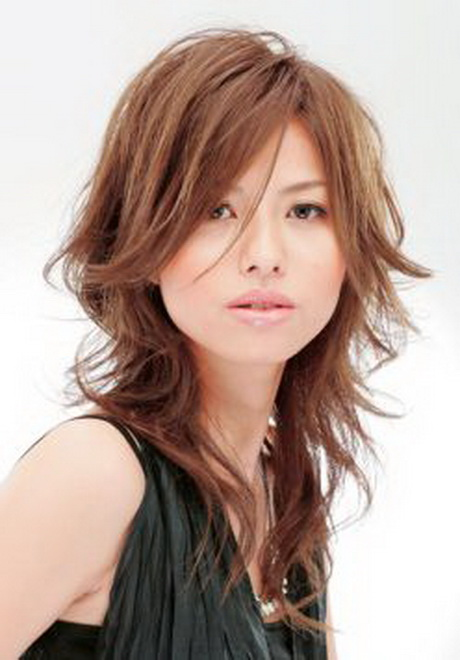 Japanese layered haircut