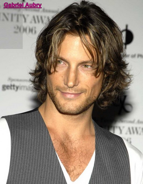 Long layered haircuts for men