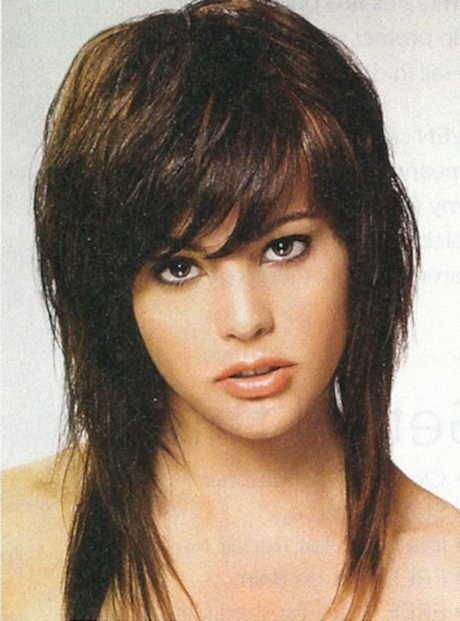 Long shaggy hairstyles for women