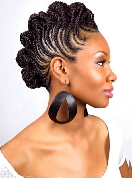 Pictures Of Nigerian Braids Hairstyles