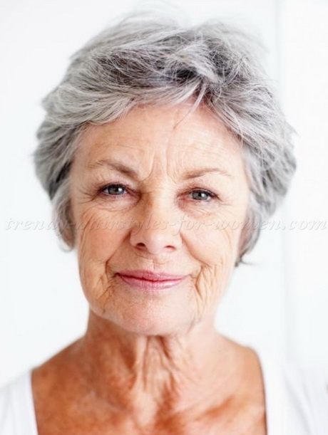 For Older Women: Short Hair Styles For Women Over 60 short