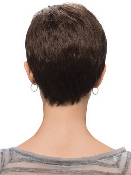 Razor Side By Side >> Pixie haircut back view