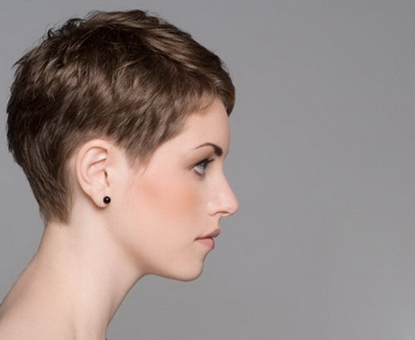 pixie haircut back view