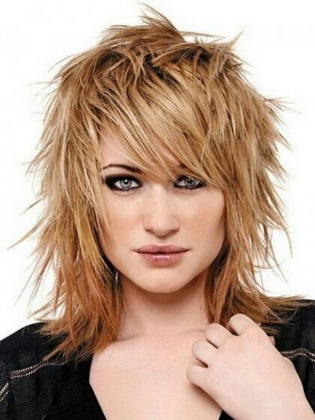sassy hairstyles for medium length hair : Choppy Shoulder Length Haircuts Shoulder Length Haircuts Choppy