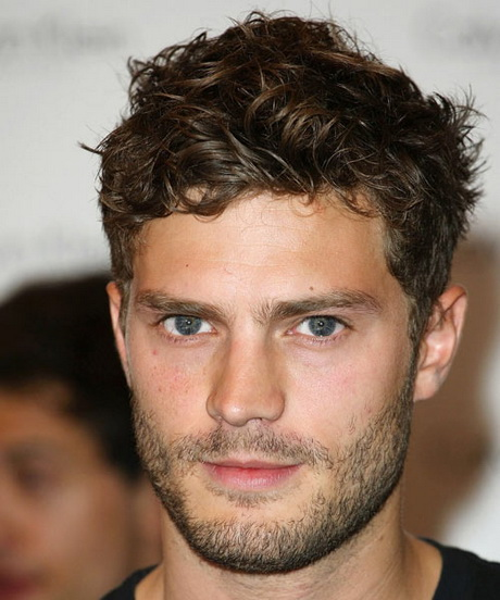 Short Hairstyles For Guys With Curly Hair Jamie Dornan