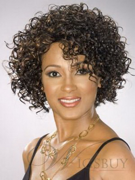 Short Curly Permed Hairstyles