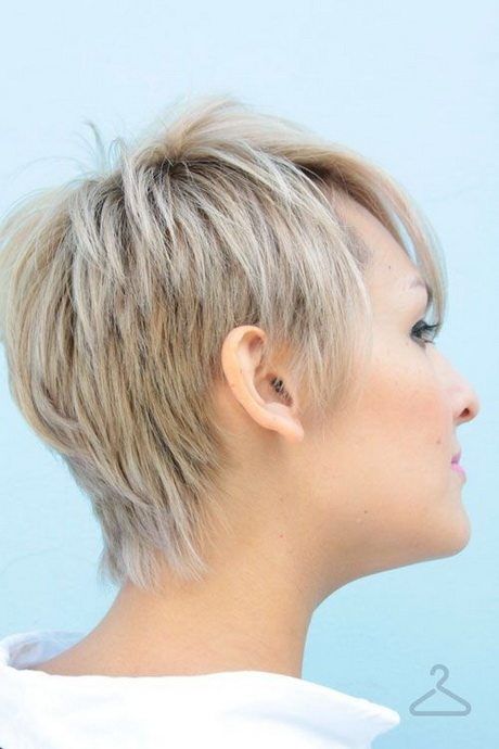 Short Hair Styles From The Back