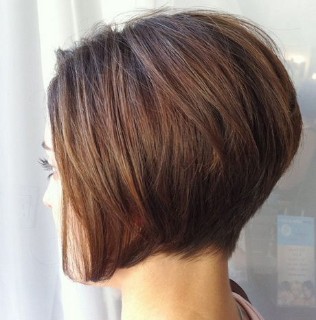 Haircuts Short In Back Long Front Stacked Wedged Hairstyle New Haircut ...