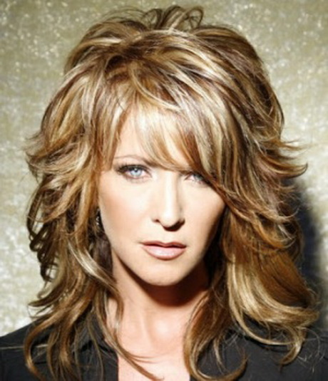 Mid Length Haircuts for Women Over 50 Medium Hairstyles