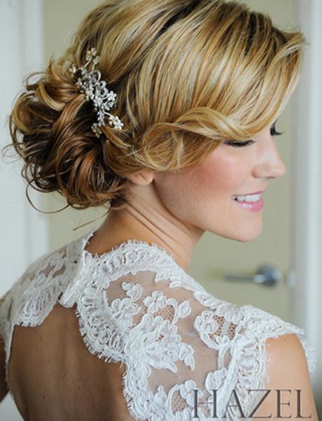 Side wedding hair