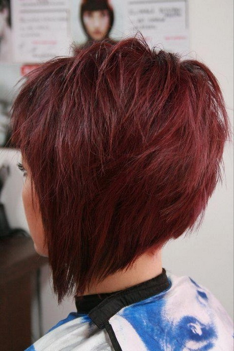 Stacked Short Haircuts For Women