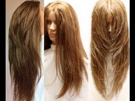 V Shaped Haircut For Long Hair