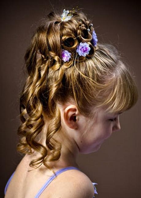 Kid Hairstyles For Weddings : Wedding hair styles for kids