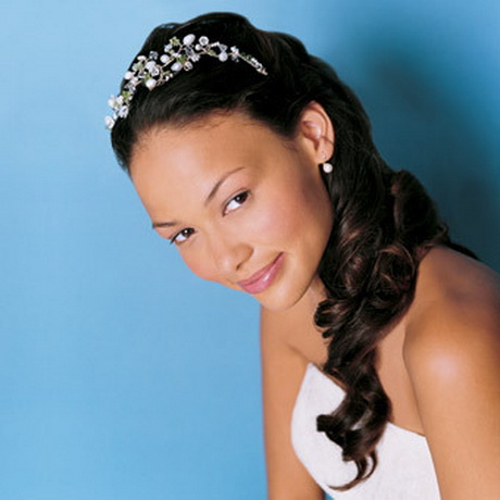 Wedding hairstyles for black brides