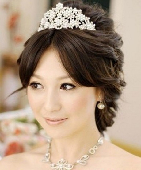 Wedding Hairstyle For Chubby Face: Wedding Hairstyles For Round Faces