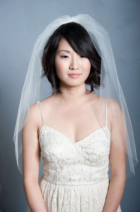 Wedding Hairstyles For Long Hair With Veil Styles Short