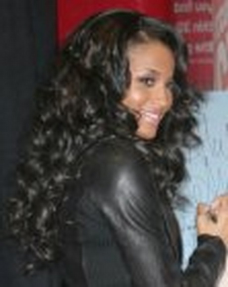 Ciara Wet And Wavy Braids Hairstyle