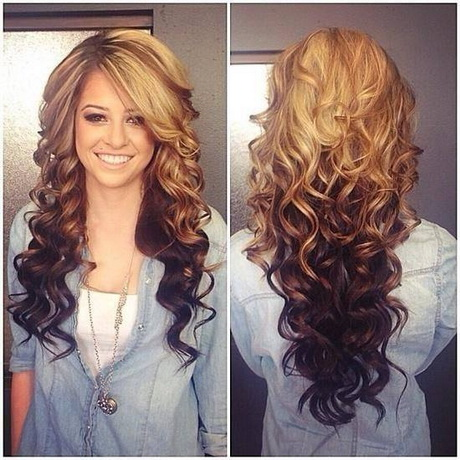 Different kinds of hairstyles for long hair
