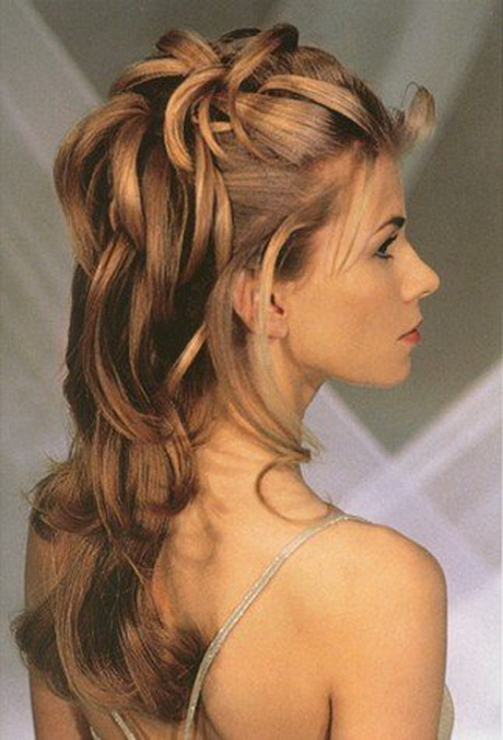 Formal prom hairstyles