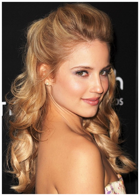 Spice Up The Dance Night With Simple Homecoming Hairstyles