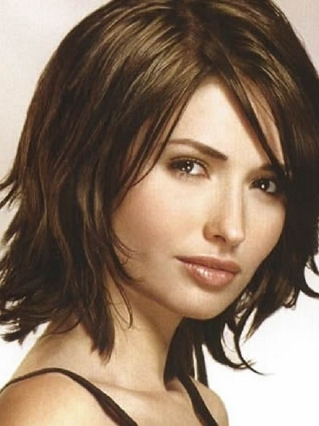 Hairstyles For Thin Medium Length Hair