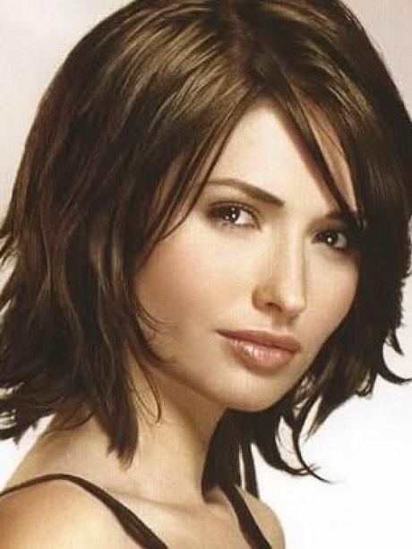 Medium short hairstyles thick hair