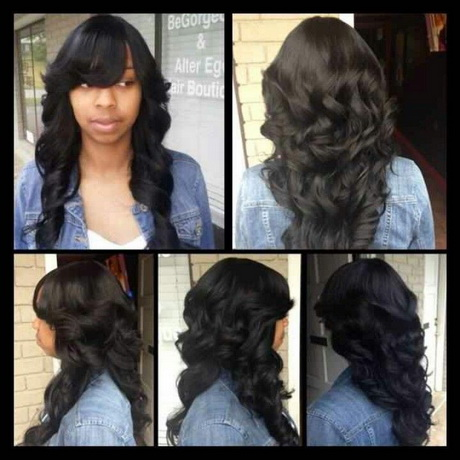 Quick weave hairstyles long hair