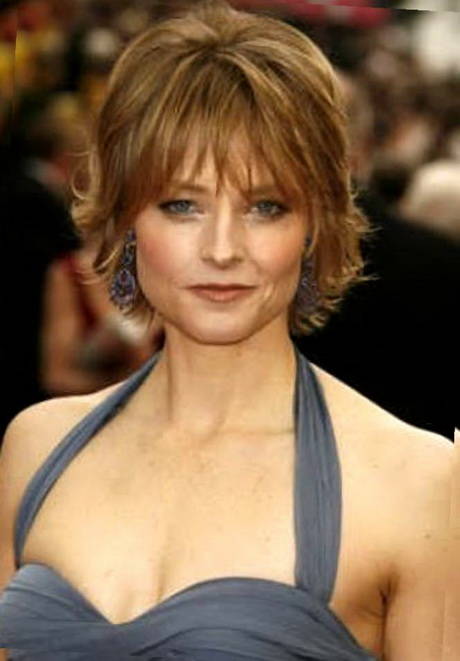 Short Feathered Hairstyles For Women