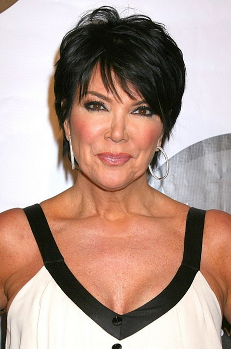 Short to medium hairstyles for women over 50