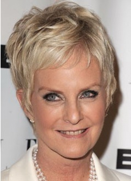 Very Short Hairstyles Women Over 50