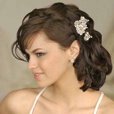 Natural Half Up Wedding Hairstyles Medium Length Hair