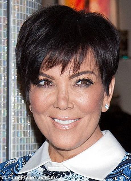 Kris Kardashian Haircut