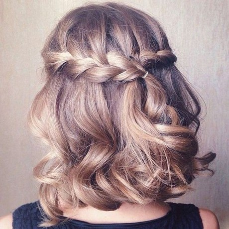 10 Prom Hairstyle Designs For Short Hair Hairstyles 2017