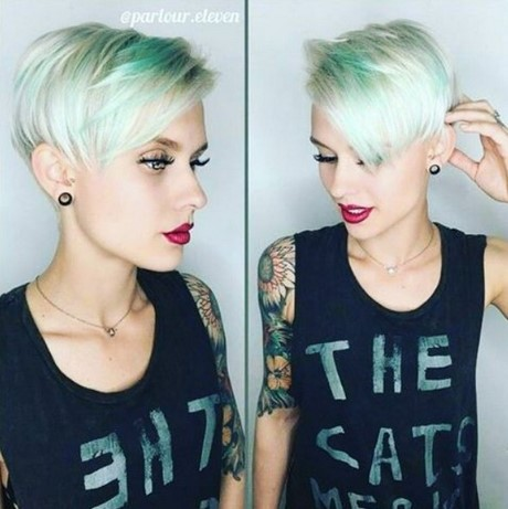 Short pixie hairstyles for 2017