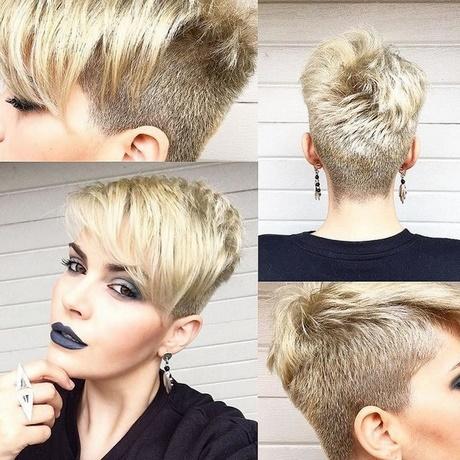 Short crop hairstyles 2018