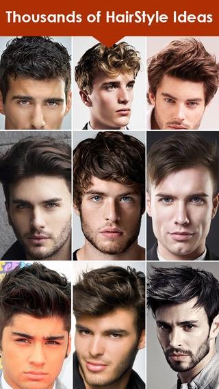 Men Haircut Catalog