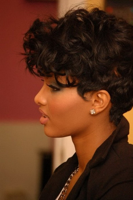 Short haircuts black women