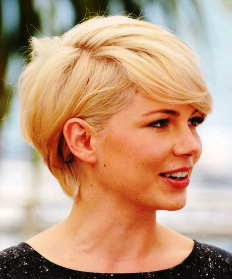 Short Haircuts Round Face