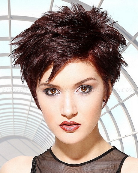 Very Short Spiky Hairstyles Women 10 Jpg