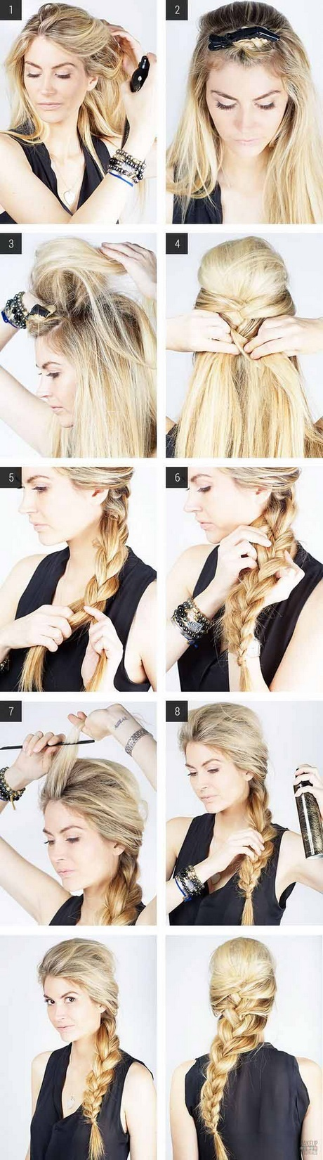 Cute easy quick hairstyles