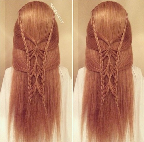 different styles of hair braids